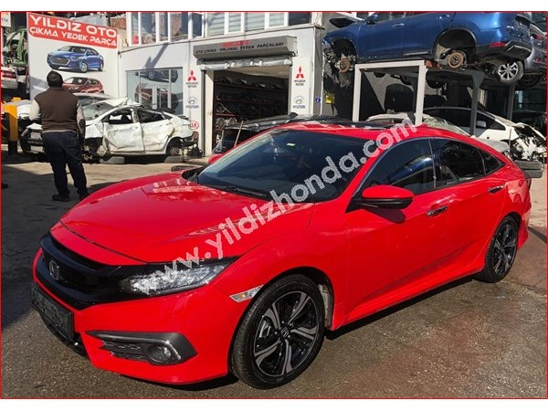 Honda Civic 2017 FC5 Tampon