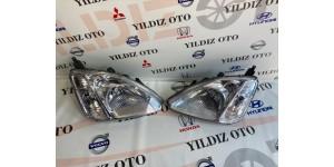 Honda Civic 2003-2005 Hatcback Sağ Sol Far